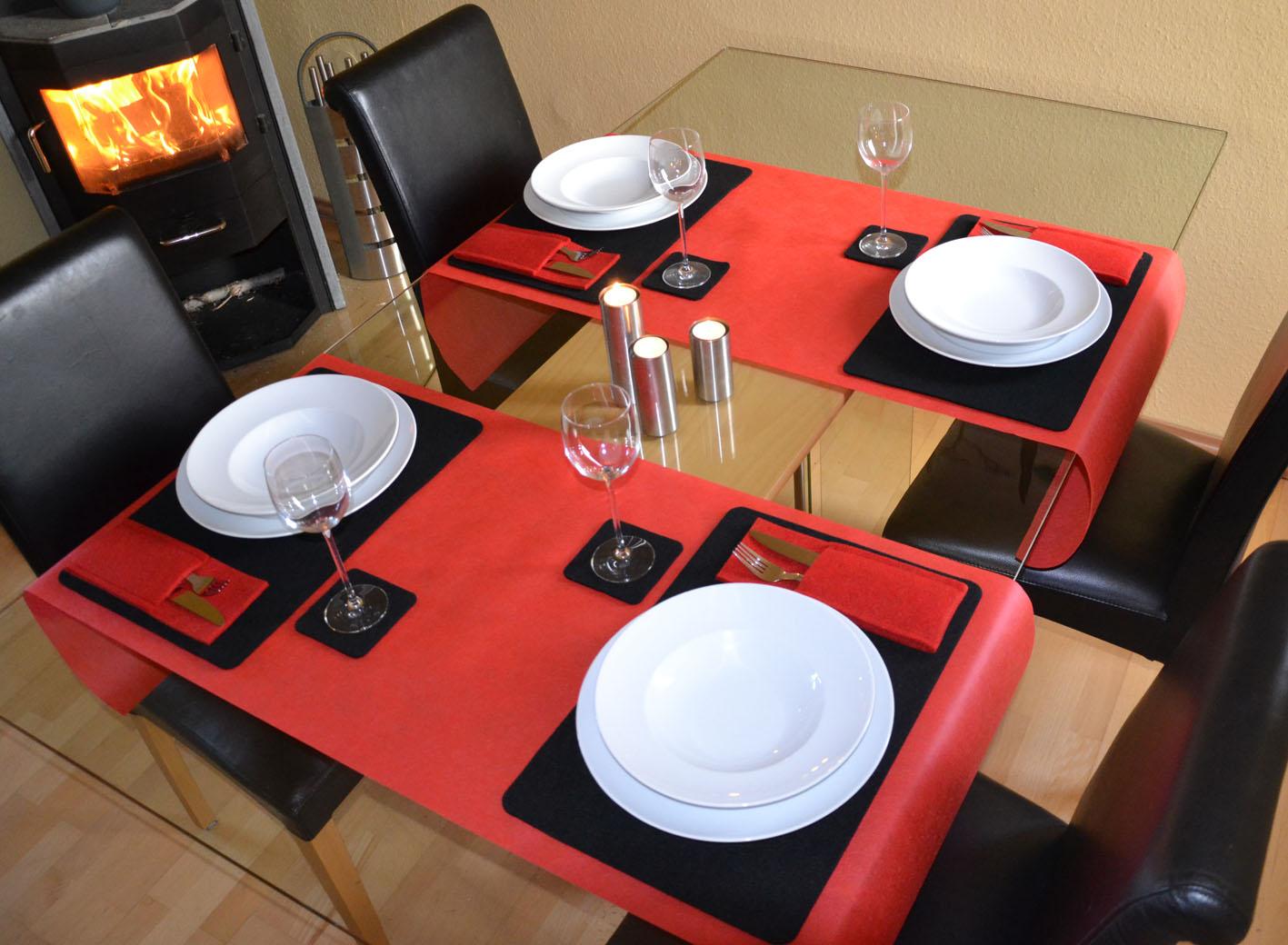 tischsets aus filz angebote auf waterige. Black Bedroom Furniture Sets. Home Design Ideas